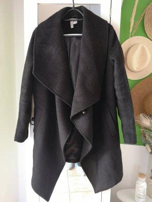 H&M Wool Coat black