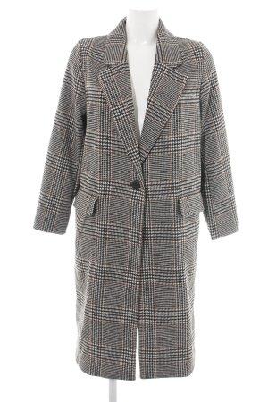 H&M Abrigo de lana multicolor tejido mezclado