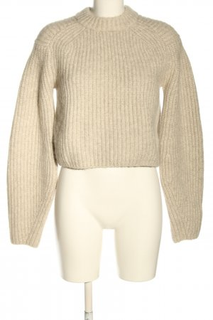 H&M Wollpullover creme meliert Casual-Look