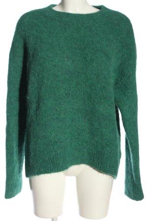 H&M Wollpullover grün Casual-Look