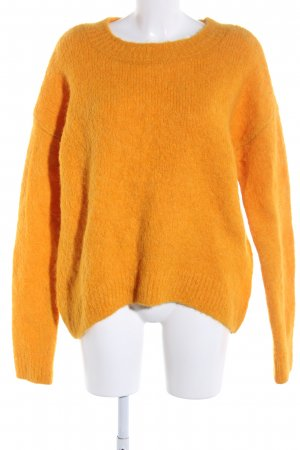H&M Wool Sweater light orange casual look