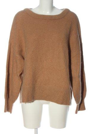 H&M Pull en laine rose chair torsades style décontracté