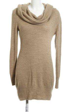 H&M Wollpullover braun schlichter Stil