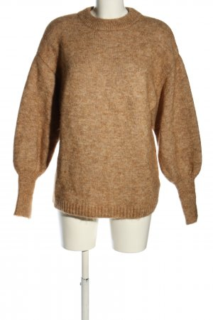 H&M Wollpullover braun Casual-Look