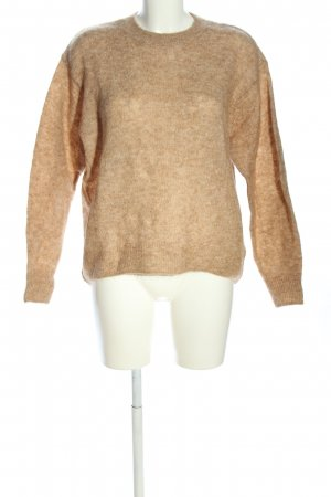 H&M Wollpullover nude meliert Casual-Look