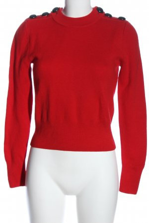 H&M Wool Sweater red casual look