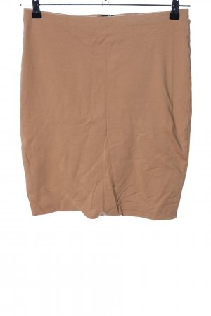 H&M Wollen rok nude casual uitstraling