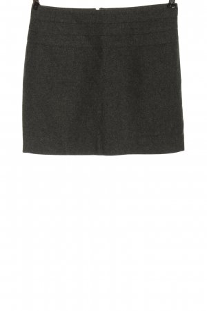 H&M Wool Skirt light grey flecked casual look