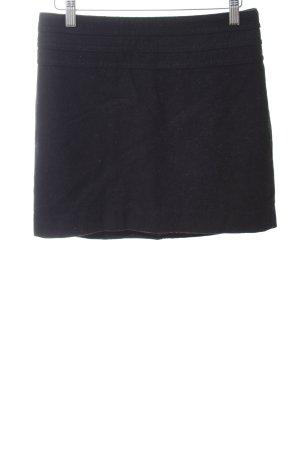H&M Falda de lana negro look casual