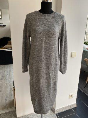H&M Conscious Collection Vestido de lana gris