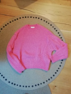 H&M Wool Blend Pulli Pullover Strick Knit Pink
