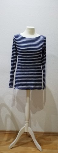 H&M: wunderschönes maritimes Langarmshirt, blau weiß gestreift, Gr. S. Selten getragen, neuwertig.