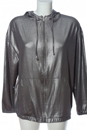 H&M x Coachella Collection Kapuzensweatshirt hellgrau Casual-Look
