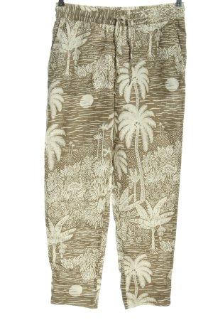 H&M x Desmond & Dempsey Pantalon en lin kaki imprimé avec thème