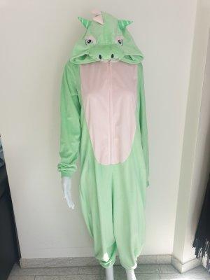 H&M XS S Jumpsuit Kostüm Drache Schlafanzug Onesie Onsie Pullover Pulli Jogginghose Hose Cardigan Strickjacke Blazer