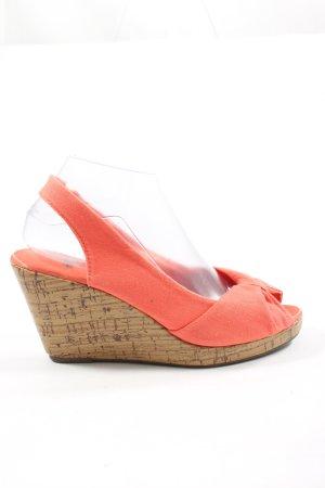 H&M Wedges Sandaletten pink Elegant
