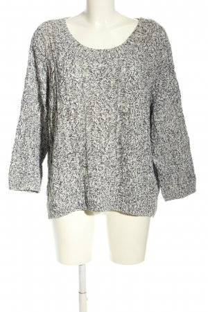 H&M Cable Sweater light grey casual look