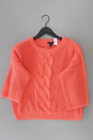 H&M Pull torsadé orange doré-orange clair-orange-orange fluo-orange foncé