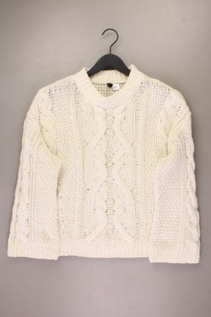 H&M Warkoczowy sweter Wielokolorowy Poliester