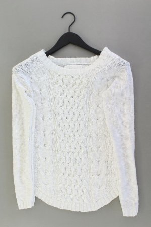 H&M Cable Sweater natural white cotton