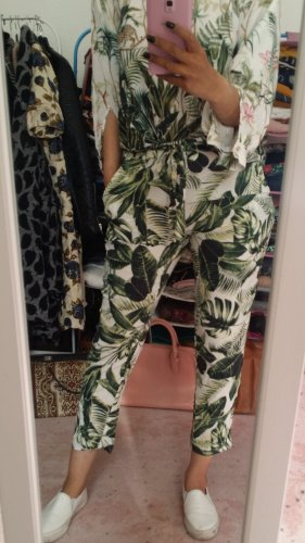 H&M Trouser Suit grass green-forest green
