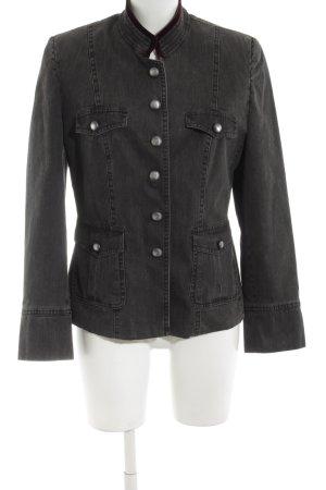 H.Moser Blazer en jean noir style décontracté