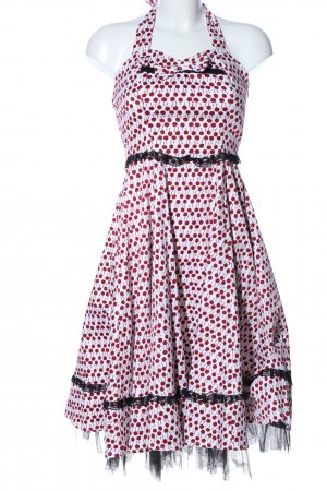H&R London Petticoatkleid Allover-Druck Elegant