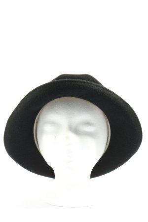 H.T.B. Hutmanufactur Folkloristische hoed zwart casual uitstraling