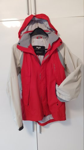 H2O Raincoat light grey-red