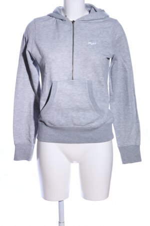 H2O Sweatshirt hellgrau meliert Casual-Look