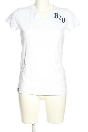 H2O V-Ausschnitt-Shirt