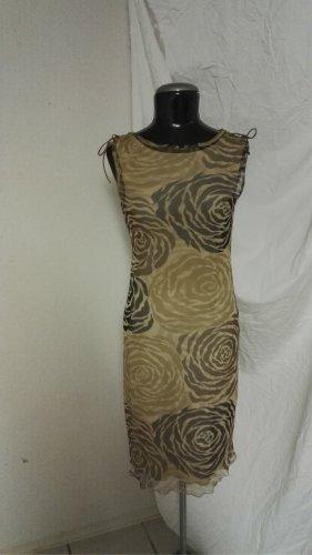 H6 Kleid m. Muster in Brauntöne von urban kiabi Gr.34/36