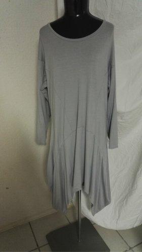 H9 Weit geschnittenes Kleid in Grau von Planet Moda Gr. Free Size w.Neu