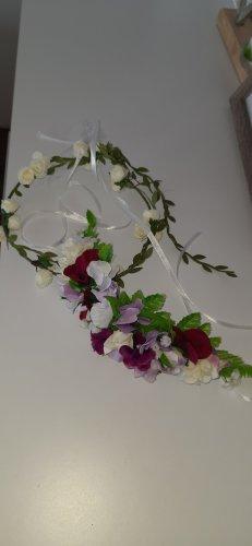 Haar Blumenkränze