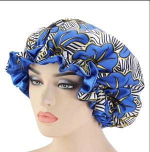 & other stories Cloche Hat neon blue-steel blue