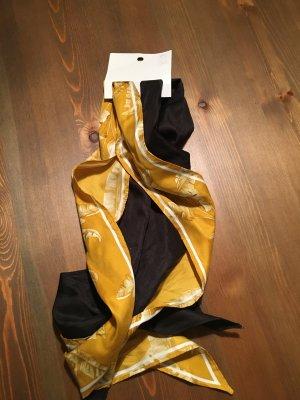 H&M Ribbon black-gold orange