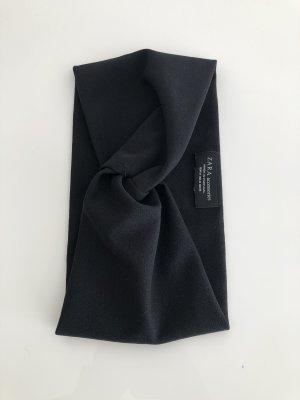 Zara Accesoires Wstążka do włosów czarny