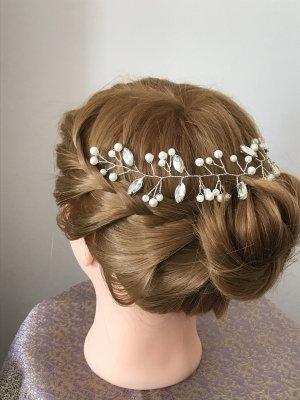 Haarband Braut Hochzeit NEU Perlen