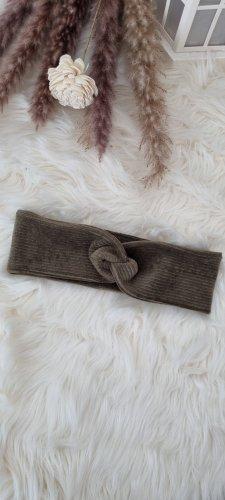 Handmade Bandeau cheveux kaki
