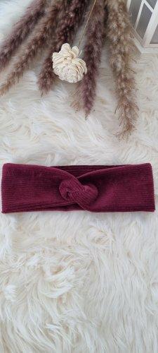 Handmade Ribbon blackberry-red