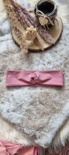 Handmade Cinta para el pelo rosa empolvado