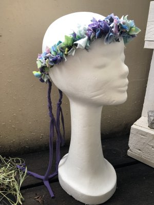 Cinta para el pelo púrpura