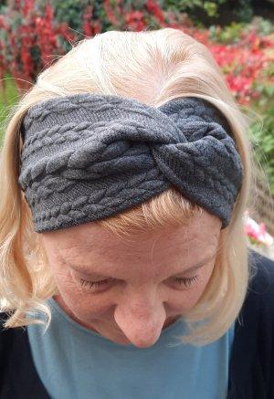 handmade with love Nastro per capelli grigio
