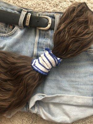 Ribbon white-dark blue
