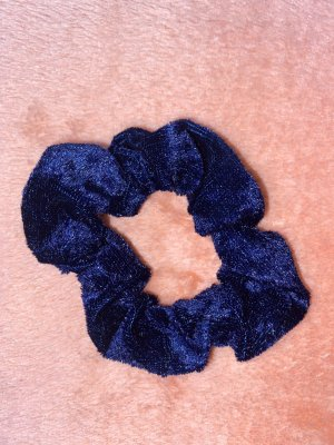 Nastro per capelli blu scuro