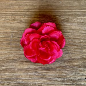 Barrette rose-magenta