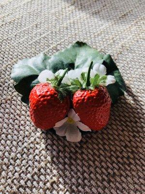 Haarklammer Erdbeeren