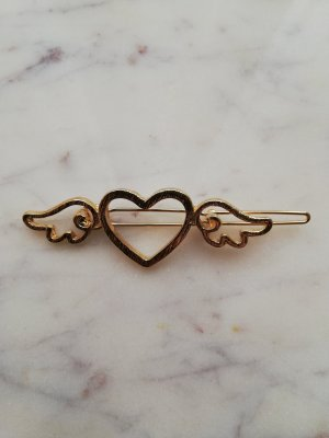 Hair Clip gold-colored metal