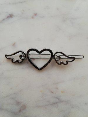 Hair Clip silver-colored metal