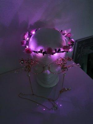 Claires Diadeem roze-roze